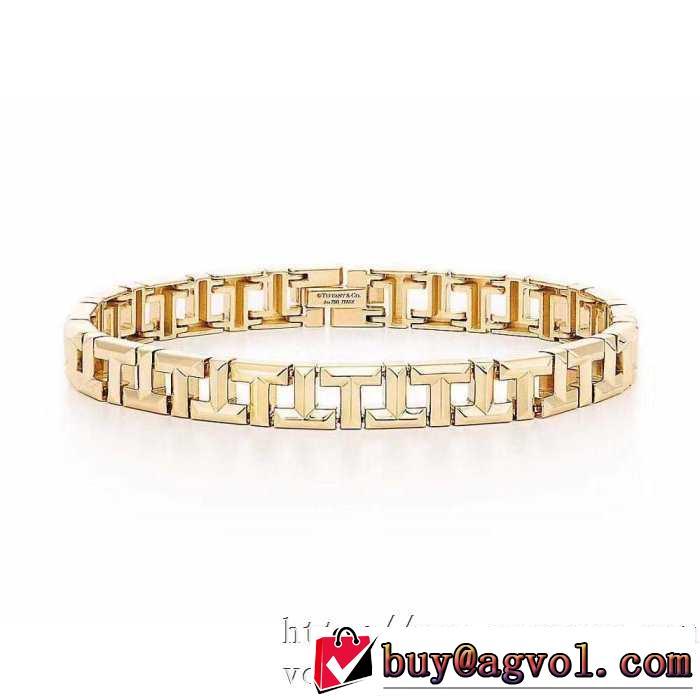 3色可選 ブレスレット 普段使いにも最適なアイテム ティファニー Tiffany&Co 安心安全人気通販
