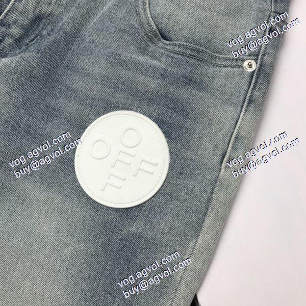 Off-White オフホワイトコピー ブランド デニムパンツ 高品質 人気 2020秋冬