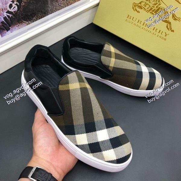 個性派3色可選バーバリー2020春夏新作 スニーカー/靴今からの季節にピッタリ高品質BURBERRY