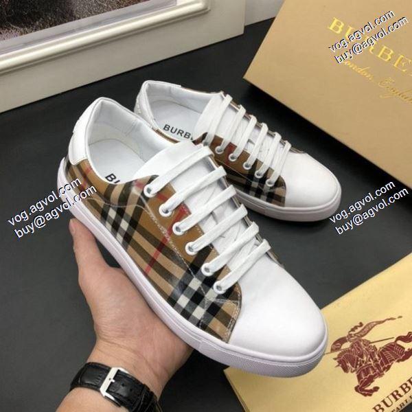 3色可選大絶賛BURBERRY 2020春夏新作バーバリー スニーカー/靴愛らしさ抜群