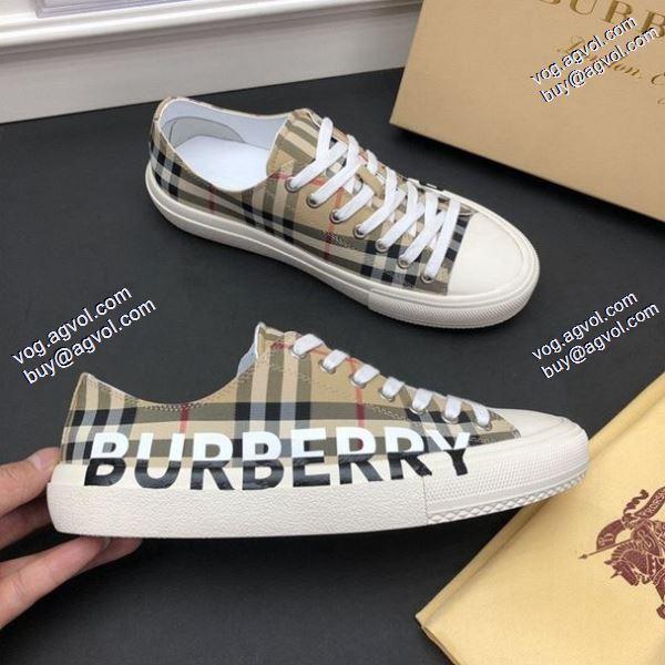 ずっと人気2020春夏新作バーバリー 主役になる存在感スニーカー/靴 BURBERRY