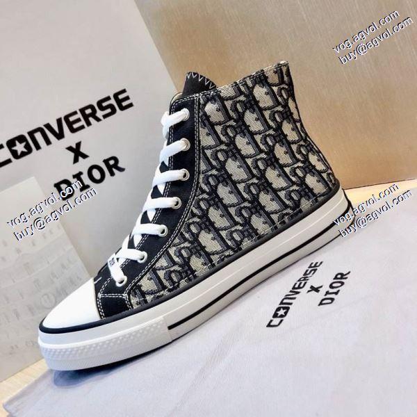 DIOR強い魅力を感じる一枚スニーカー/靴 2020春夏新作個性派 ディオール DIOR X CONVERSE 1970S