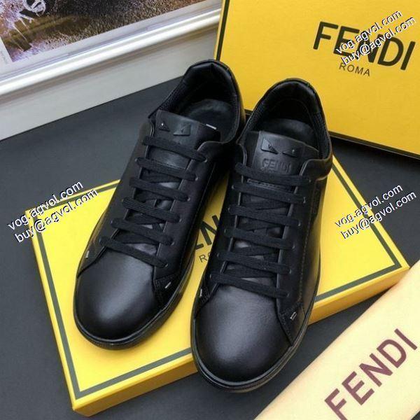 FENDI2020春夏新作お洒落自在 上質フェンディ 個性派スニーカー/靴