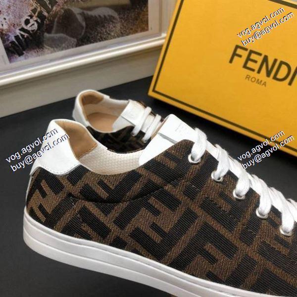 最安値2020春夏新作強い魅力を感じる一枚フェンディ スニーカー/靴FENDI