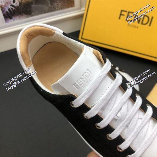 ムダな装飾を排したデザインスニーカー/靴 セレブ風 2020春夏新作フェンディ FENDI