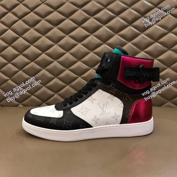 素敵2色可選 2020春夏新作ルイ ヴィトンファション性の高い セレブ風 スニーカー/靴 LOUIS VUITTON