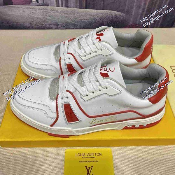 スニーカー/靴2020春夏新作ランキング商品 3色可選ファション性の高いルイ ヴィトン LOUIS VUITTON