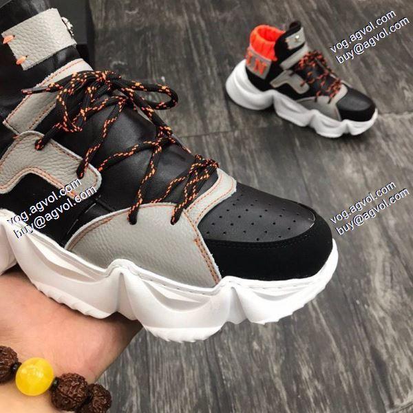 素敵PHILIPP PLEIN2020春夏新作フィリッププレイン 個性的なデザイン スニーカー/靴3色可選