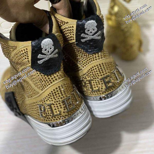 フィリッププレイン2020春夏新作 高評価の人気品 PHILIPP?PLEIN ランキング商品2色可選 スニーカー/靴