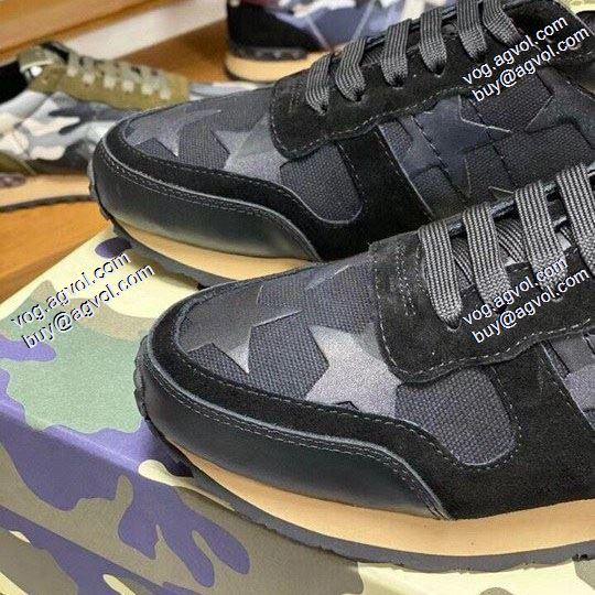 VALENTINO 2020春夏新作 お洒落に魅せる ヴァレンティノ セレブ風スニーカー/靴