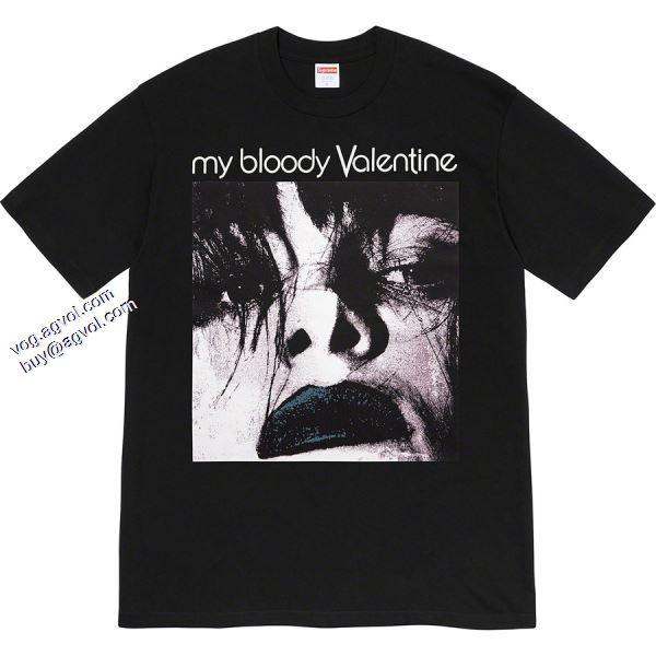 シュプリーム SUPREME 2色可選 Supreme 20ss My Bloody Valentine Feed Me With Your Kis 2020春夏新作 Tシャツ/半袖