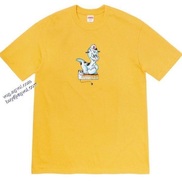 Supreme 20SS Dinosaur Tee 個性的なデザ 多色可選 2020春夏新作 Tシャツ/半袖