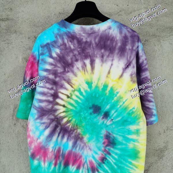 2020夏の新型重工洗濯SUPREMEコピー村上隆のファッション染めシュプリームコピー Tシャツ/半袖スタイリッシュな印象