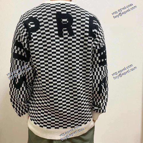 ゆったりとしたサイズ感 Supreme 20SS Back Logo Sweater プルオーバー SUPREME偽物ブランド