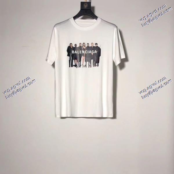 Tシャツ/半袖 バレンシアガ 2020春夏新作 BALENCIAGA 3色可選  着心地抜群