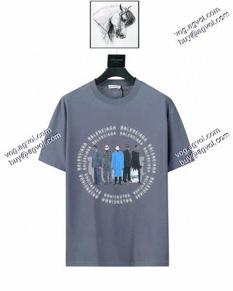上品上質 2020春夏新作 Tシャツ/半袖 バレンシアガ BALENCIAGA