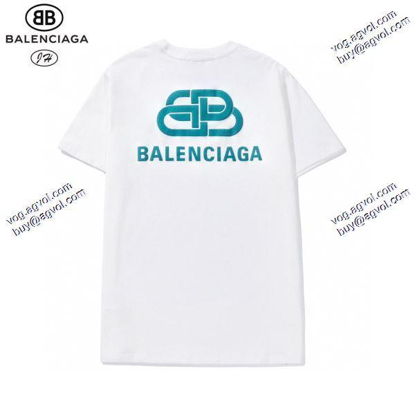 デザイン性の高い 2020春夏新作 Tシャツ/半袖 バレンシアガ BALENCIAGA 2色可選