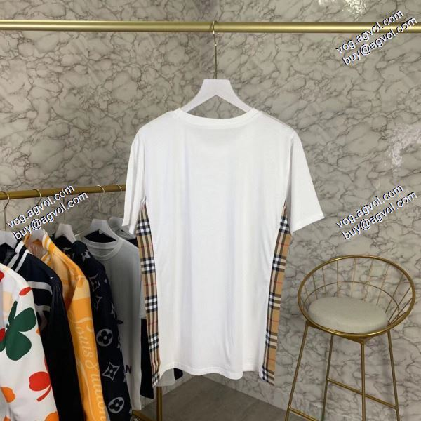 バーバリー BURBERRY 2020春夏新作  2色可選  大絶賛の履き心地! Tシャツ/半袖