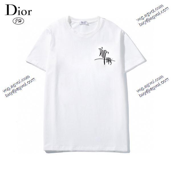 2色可選大人のセンスを感じさせる  ディオール DIOR存在感のある 2020春夏新作 Tシャツ/半袖