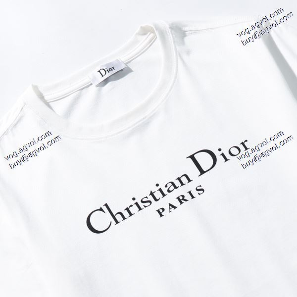 大人気再登場 2020春夏新作 Tシャツ/半袖 2色可選  ディオール DIOR愛らしさ抜群