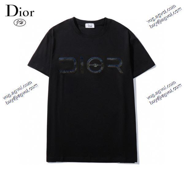 主役になる存在感2020春夏新作 Tシャツ/半袖 2色可選 存在感のあるディオール DIOR
