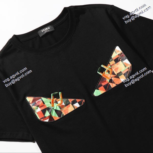 フェンディ特別人気感謝SALE FENDI Tシャツ/半袖 2色可選海外セレブ定番愛用 2020春夏新作