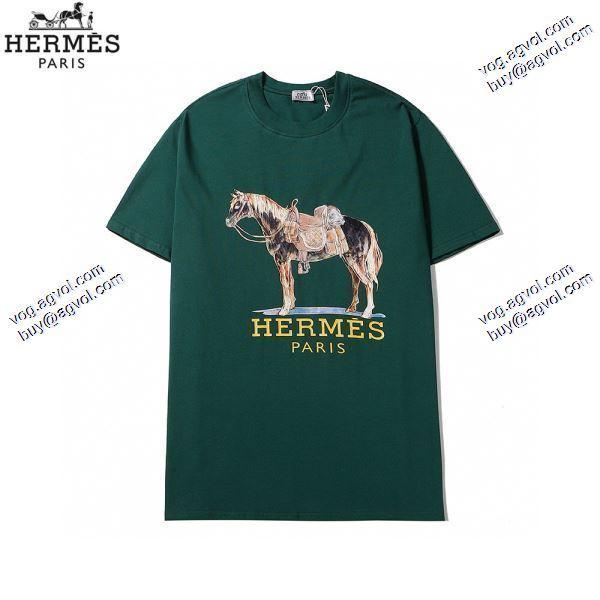 2020春夏新作 エルメス HERMES Tシャツ/半袖  3色可選海外セレブ定番愛用