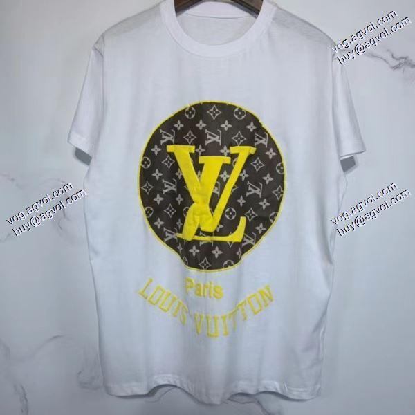 2020春夏新作ルイ ヴィトン大人の個性を LOUIS VUITTON Tシャツ/半袖 2色可選大人気再登場