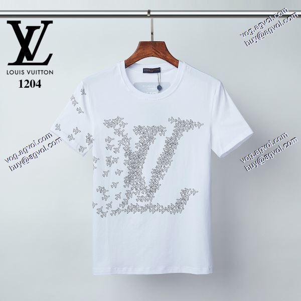大人のセンスを感じさせる 2020春夏新作ルイ ヴィトン LOUIS VUITTON Tシャツ/半袖 2色可選