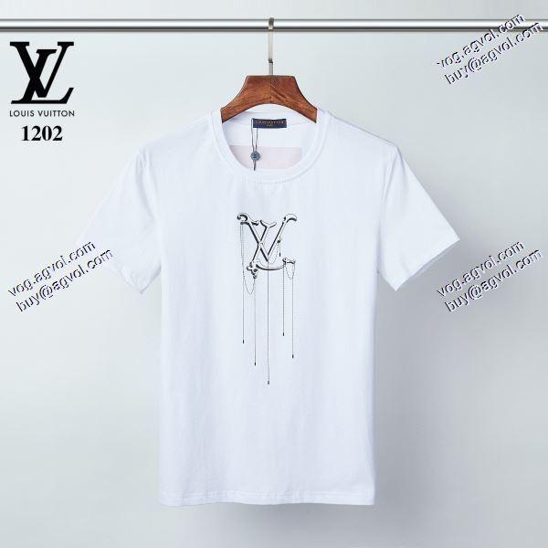 大人キレイに仕立てる 2020春夏新作ルイ ヴィトン LOUIS VUITTON Tシャツ/半袖 2色可選