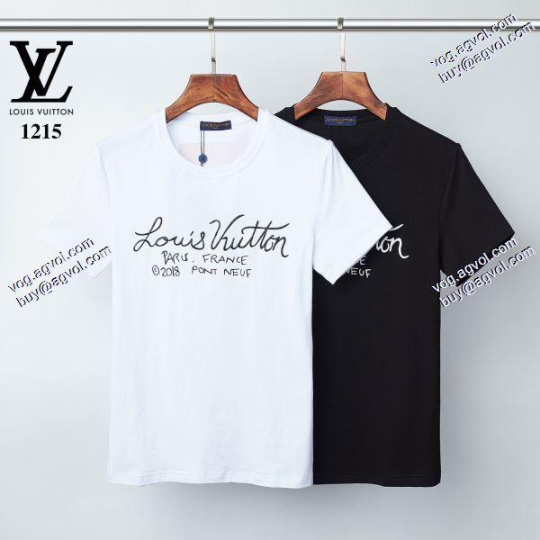 主役になる存在感 2色可選 2020春夏新作ルイ ヴィトン LOUIS VUITTON Tシャツ/半袖