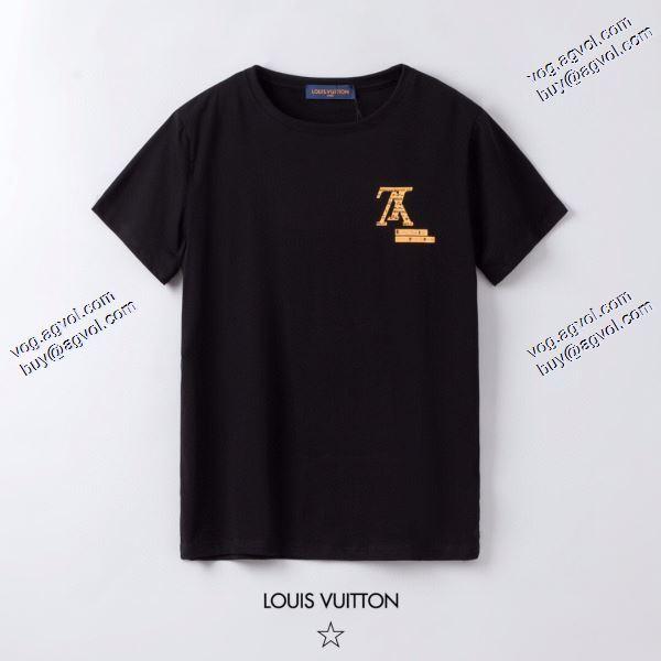 海外セレブ定番愛用 LOUIS VUITTON Tシャツ/半袖 2色可選 2020春夏新作ルイ ヴィトン