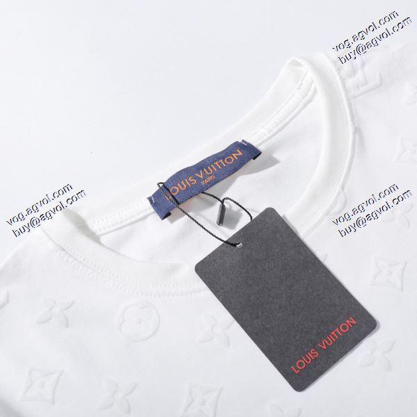 今からの季節にピッタリ 2020春夏新作ルイ ヴィトン LOUIS VUITTON Tシャツ/半袖 2色可選