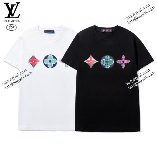 肌触りのいい 2020春夏新作ルイ ヴィトン LOUIS VUITTON Tシャツ/半袖 2色可選 愛らしさ抜群