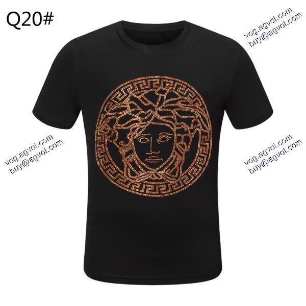 モデル大絶賛ヴェルサーチVERSACE 2020春夏新作2色可選  Tシャツ/半袖  今からの季節にピッタリ
