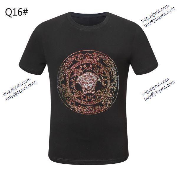 大人のセンスを感じさせるヴェルサーチVERSACETシャツ/半袖 2色可選 2020春夏新作高品質