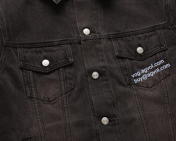 上品上質デニムジャケット バレンシアガ耐久性のある BALENCIAGA  2020秋冬新作