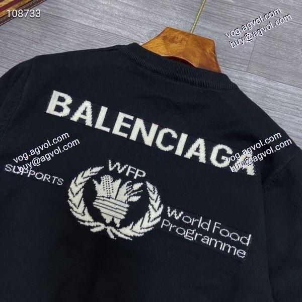 バレンシアガ BALENCIAGA 人気ブランド  2020秋冬新作 ニットウェア 高品質 人気