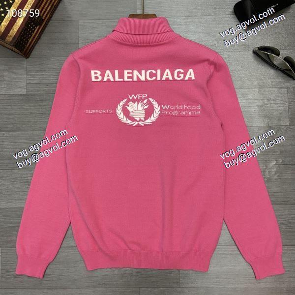 2色可選 バレンシアガ BALENCIAGA  2020秋冬新作 プルオーバー上質 大人気
