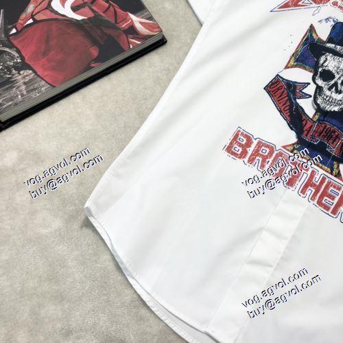 スーパー コピー 通販 優良:お買得 2021春夏 ディースクエアード 半袖シャツ 2色可選 ディースクエアードブランド 偽物 通販 強い魅力を感じる一枚