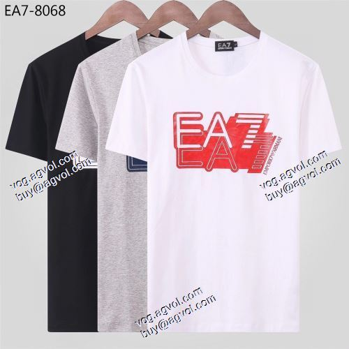 スーパー コピー 販売:3色可選 2021春夏 ARMANIブランドスーパーコピー 半袖Tシャツ 綺麗に決まるフォルム! アルマーニ ARMANI