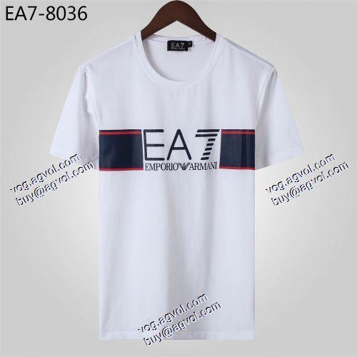 偽 ブランド 通販:体の運動機能を助け アルマーニ ARMANI 2021春夏 Tシャツ/ティーシャツ 3色可選 アルマーニスーパーコピー