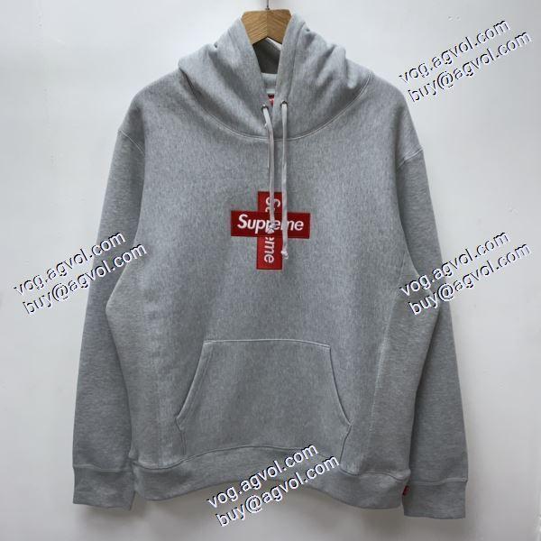 Supreme 20FW Week15 Cross Box Logo 十字架logo 入手困難! パーカー シュプリームコピーブランド 6色可選