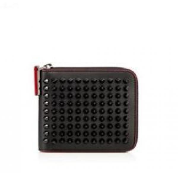 デザイン性に優れているアイテム クリスチャン ルブタン  Christian Louboutin  レディースウォレット・財布 ブラック