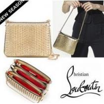 格安ルブタン Christian Louboutin Triloubi Small Chain Bag 収納できるバッグ.