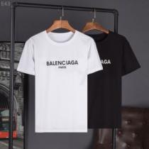 2018春夏新作 大人のおしゃれに 半袖Tシャツ バレンシアガ BALENCIAGA 快適な着心地 2色可選