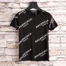クールビズ 2018春夏新作 バレンシアガ BALENCIAGA 3色可選 定番品質保証 半袖Tシャツ