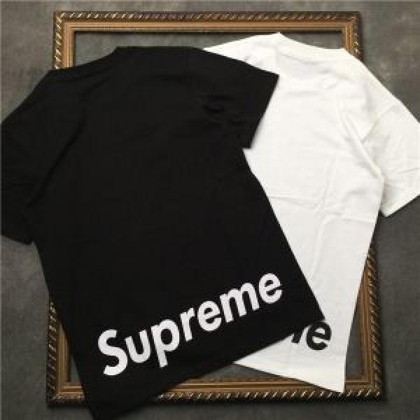 有名人同じアイテム シュプリーム SUPREME 2018夏の定番新品到来!半袖/Tシャツ2色可選