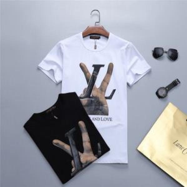 2色可選 今旬のシルエットバランス ルイ ヴィトン LOUIS VUITTON Tシャツ/ティーシャツ 2019年最新ファッション