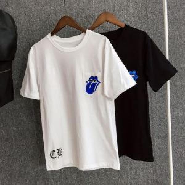 新作限定早い者勝ち CHROME HEARTS 2色可選 クロムハーツ 2019春夏の大注目トレンド半袖Tシャツ